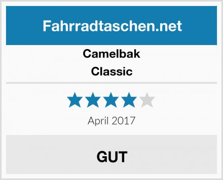 Camelbak Classic Test