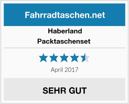 Haberland Packtaschenset  Test