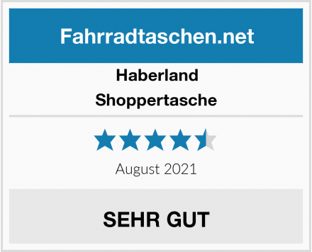 Haberland Shoppertasche Test