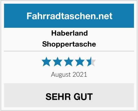 Haberland Shoppertasche Test