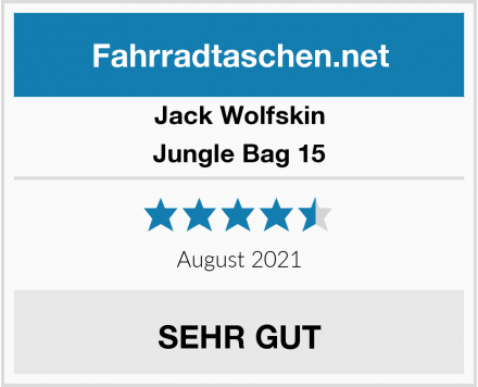 Jack Wolfskin Jungle Bag 15 Test