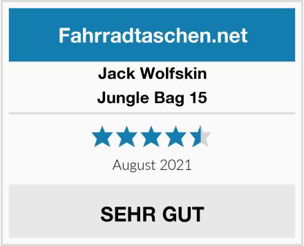 Jack Wolfskin Jungle Bag 15 Test