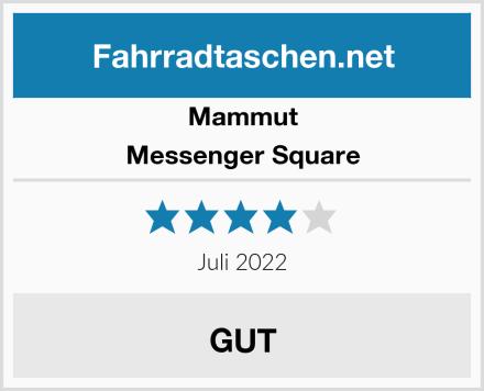 Mammut Messenger Square Test