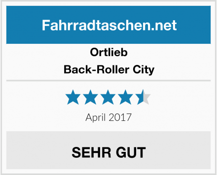 Ortlieb Back-Roller City Test