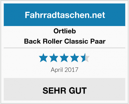 Ortlieb Back Roller Classic Paar Test