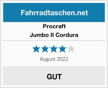 Procraft Jumbo II Cordura Test
