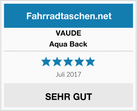 VAUDE Aqua Back Test
