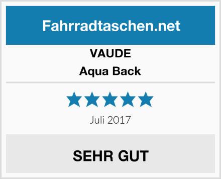 VAUDE Aqua Back Test