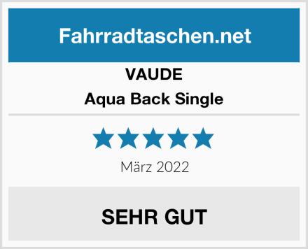 VAUDE Aqua Back Single Test
