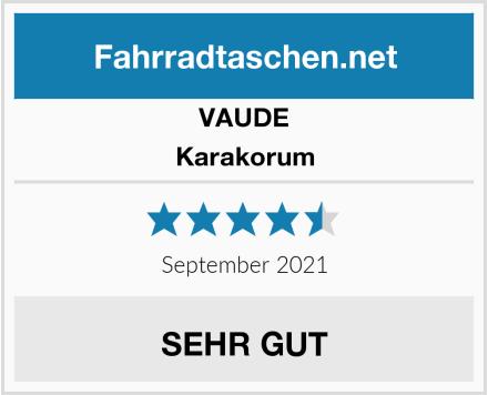 VAUDE Karakorum Test