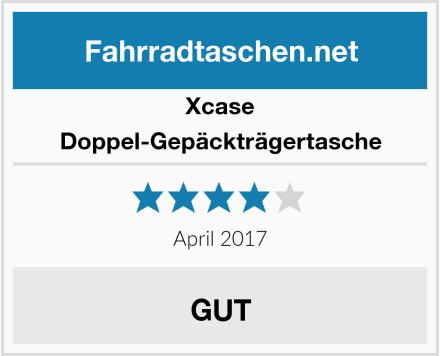 Xcase Doppel-Gepäckträgertasche Test
