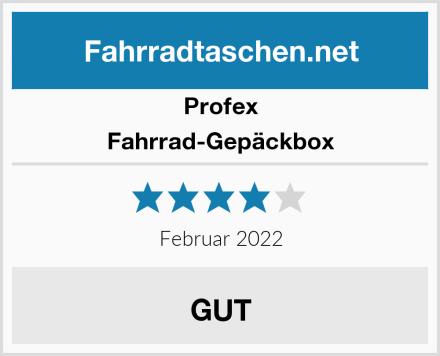 Profex Fahrrad-Gepäckbox Test