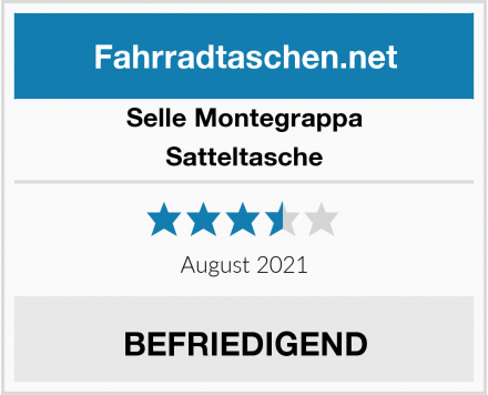 Selle Montegrappa Satteltasche Test