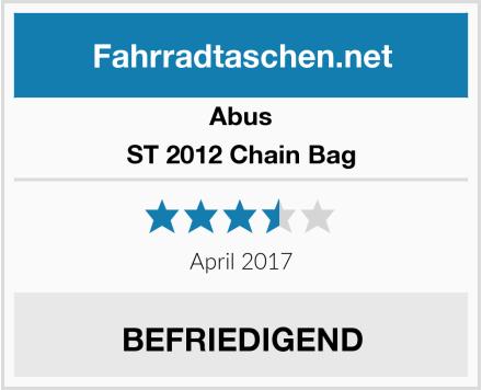 Abus ST 2012 Chain Bag Test