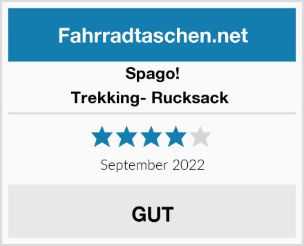 Spago! Trekking- Rucksack  Test