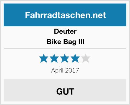 Deuter Bike Bag III Test