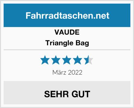 VAUDE Triangle Bag Test