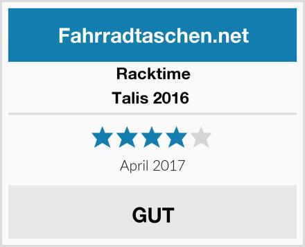Racktime Talis 2016  Test
