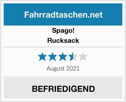 Spago! Rucksack Test