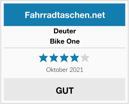 Deuter Bike One Test