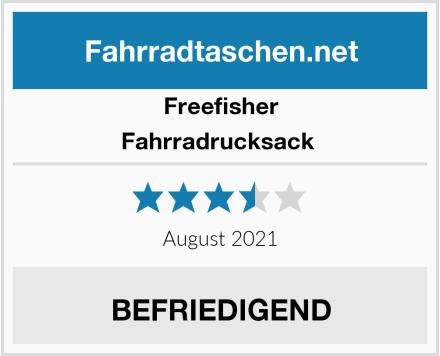 Freefisher Fahrradrucksack  Test