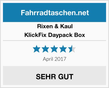 Rixen & Kaul KlickFix Daypack Box Test