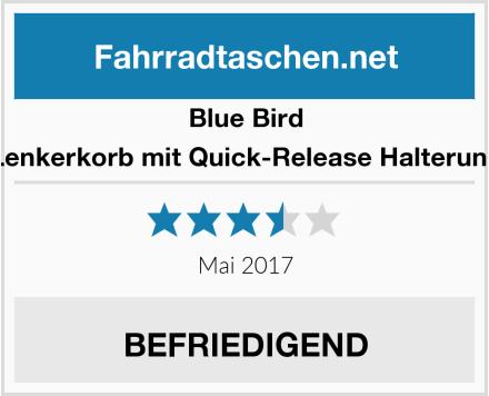 Blue Bird Lenkerkorb mit Quick-Release Halterung Test