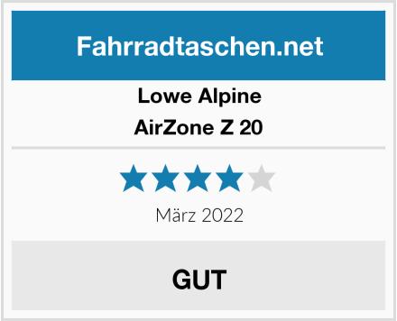 Lowe Alpine AirZone Z 20 Test