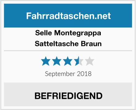 Selle Montegrappa Satteltasche Braun Test