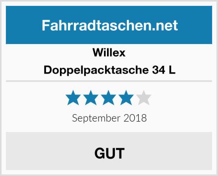 Willex Doppelpacktasche 34 L Test