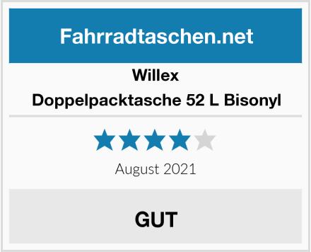 Willex Doppelpacktasche 52 L Bisonyl Test
