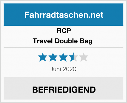 RCP Travel Double Bag  Test