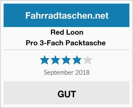 Red Loon Pro 3-Fach Packtasche  Test