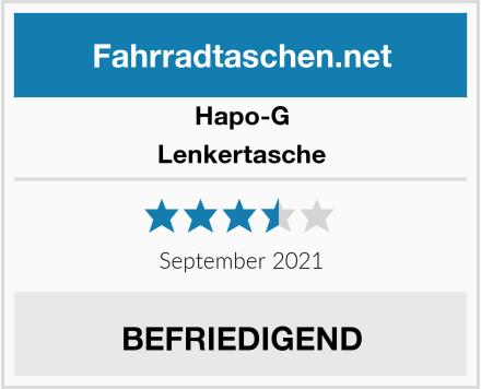 Hapo-G Lenkertasche Test