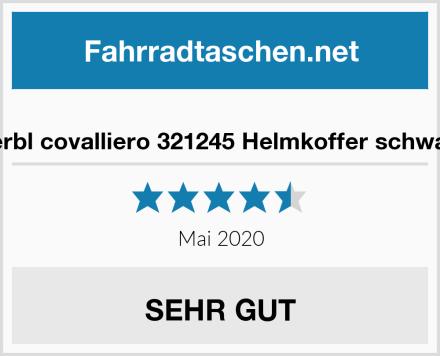 Kerbl covalliero 321245 Helmkoffer schwarz Test