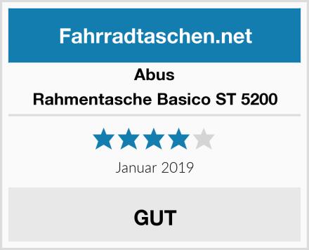 Abus Rahmentasche Basico ST 5200 Test