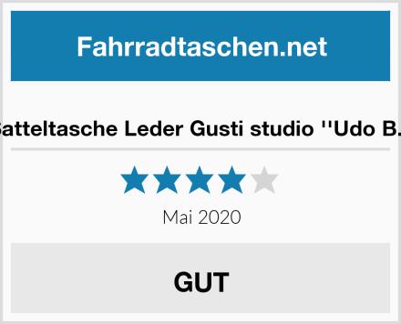 Satteltasche Leder Gusti studio ''Udo B.'' Test