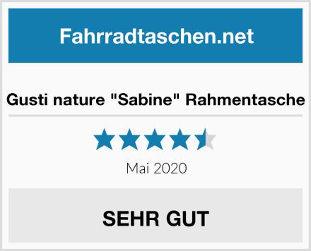 "Gusti nature ""Sabine"" Rahmentasche Test"