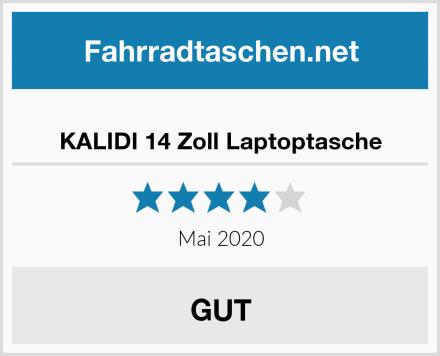 KALIDI 14 Zoll Laptoptasche Test
