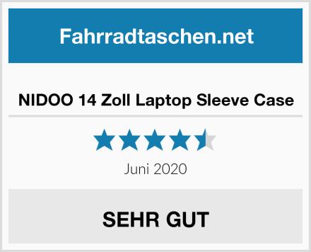 NIDOO 14 Zoll Laptop Sleeve Case Test
