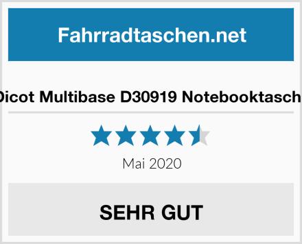 Dicot Multibase D30919 Notebooktasche Test