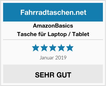 AmazonBasics Tasche für Laptop / Tablet Test