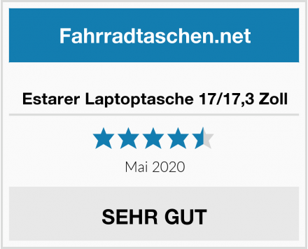 Estarer Laptoptasche 17/17,3 Zoll Test