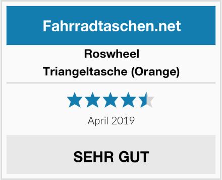 Roswheel Triangeltasche (Orange) Test