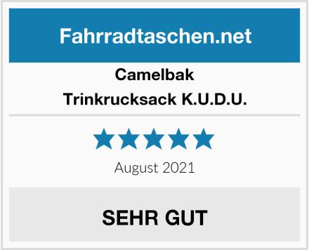 Camelbak Trinkrucksack K.U.D.U. Test