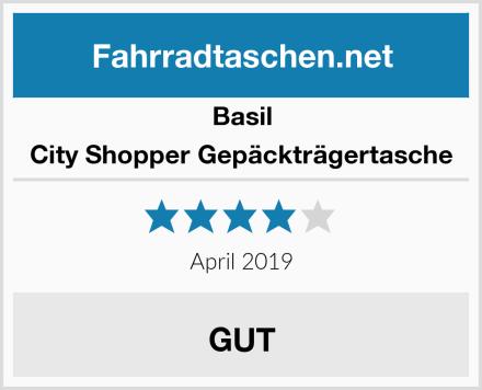 Basil City Shopper Gepäckträgertasche Test