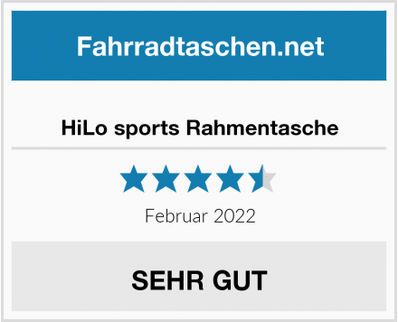 HiLo sports Rahmentasche Test