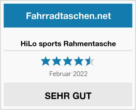 HiLo sports Rahmentasche Test