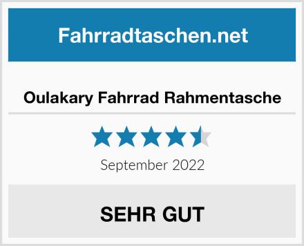 Oulakary Fahrrad Rahmentasche Test