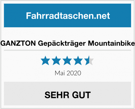 No Name GANZTON Gepäckträger Mountainbike Test